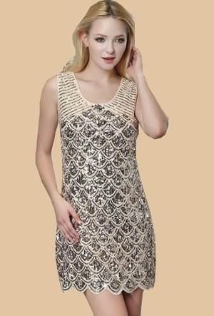 7409278ca Vestido de fiesta elegante con pedreria talla m importado