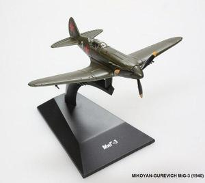 Iljuschin il-2 listo modelo de metal de agostini nuevo aviones legendaria