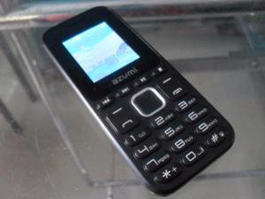 Celular basico azumi l2z camara flash bloqueado sin bateria