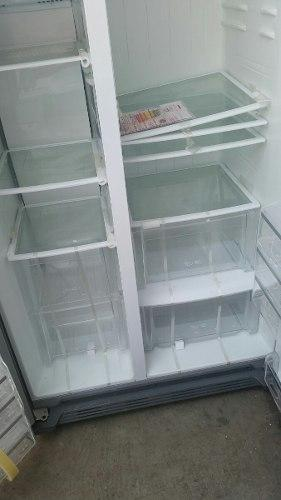 Refrigeradora electrolux sidebyside acero inoxidable ocasió