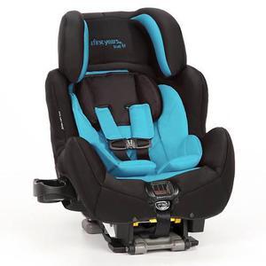 Asiento silla de autos para niños first years celeste 2017