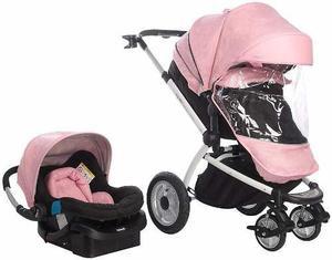 3943defa6 Coche bebe infanti epic le cuna paris + porta bebe nuevos !