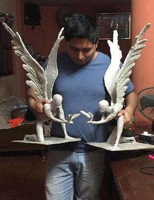 Escultura de Angel