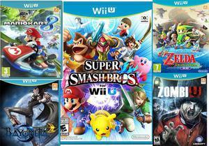 Juegos Nintendo Wii U En Lima Ofertas Enero Clasf Juegos