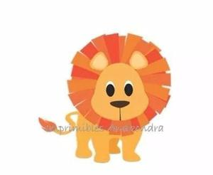Kit imprimible scrapbook safari animales de la selva jungla