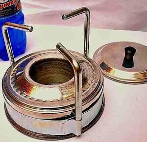 Cocina portatil 1 hornilla a ron quemar camping playa paseos
