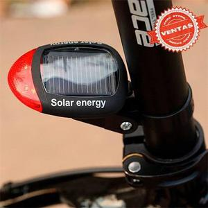 Luces led seguridad para bicicleta solar novedad jarcstore