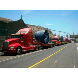 Servicios de transportes de carga pesada a nivel nacional