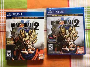 Dragon ball xenoverse 2 day one edition ps4 nuevo sellado