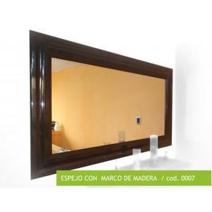 Espejo Marco Madera Anuncios Mayo Clasf