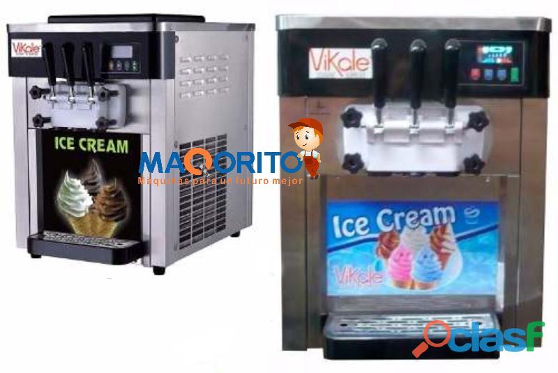 Maquina de helados, marca vikale, modelo bql818b