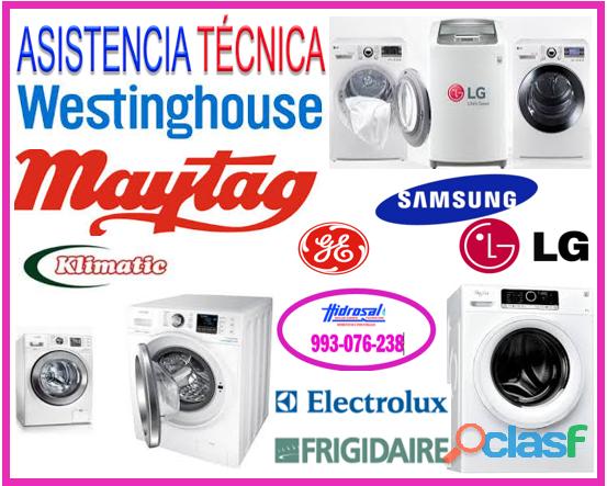Mantenimiento y reparaciones de lavadoras lg