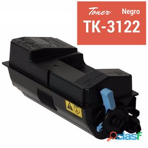 Toner compatibles para kyocera tk3122