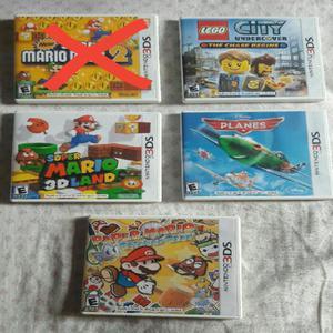 Juegos nintendo 3ds originales