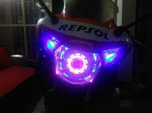 Ojos del diablo para motos