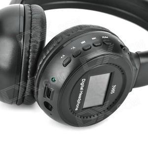 Audifonos bluetooth con radio y reproductor mp
