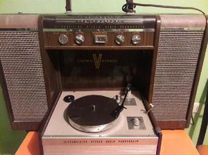 Tocadiscos estéreo radio am