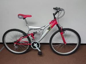 Bicicleta montañera doble amortiguador