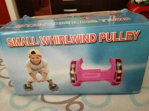 Patines small whirlwind pulley