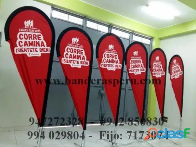 venta de banderas tipo Gota Whatsapp 942850830