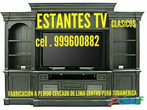 Estantes tv entretenimiento clasicos lima perú sudamerica