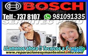 S.o.s!!! ayuda técnica bosch <lavadoras&secadoras981091335