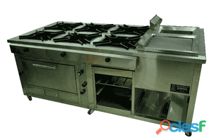 Cocinas ind hornos ecologico pollo brasa vitrinas refrigeradas