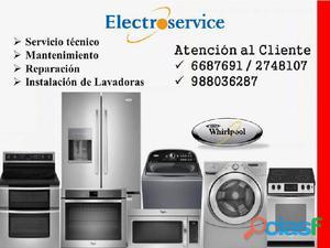 Reparaciones a domicilio de lavadoras whirlpool 988036287