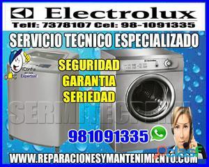 En san borja=> profesionales electrolux (lavadoras&secadoras) #7378107