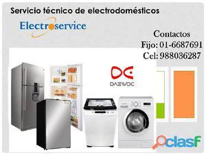 Reparación de lavadoras lavaseca DAEWOO 2748107