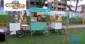 Alquiler de juegos inflables y carritos snacks