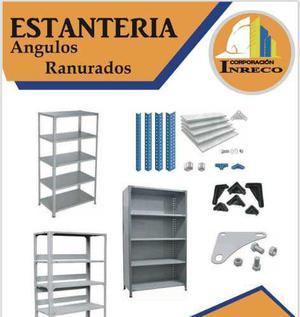Anaqueles, estantes metálicos-calidad y garantía,desde