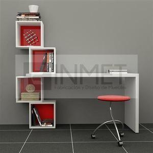 Escritorio melamina moderno cubos 18mm oficina en lima for Escritorios de oficina lima