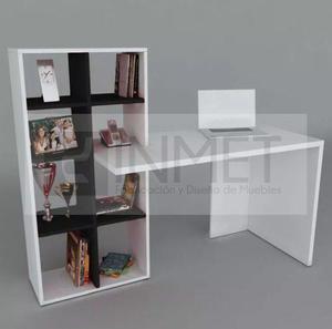 Escritorio melamina moderno estante librero 18mm oferta!!!