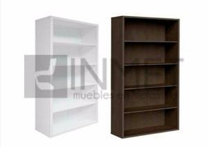 Librero estante de melamina 18mm. mueble organizador oficina
