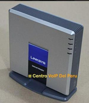 Linksys voip pap2t para llamadas en oficinas, casas, negocio