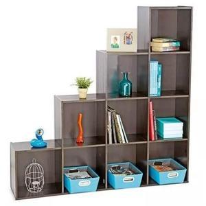 Mueble biblioteca, librero, estante de melamina/envio gratis