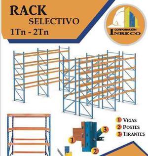 Racks y miniracks para carga pesada y liviana-import. y nac