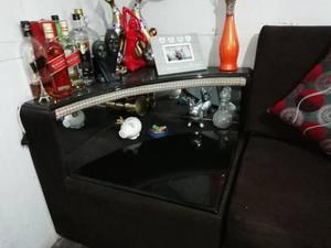 Remato juego de muebles 4 cuerpos con minibar 1300 soles