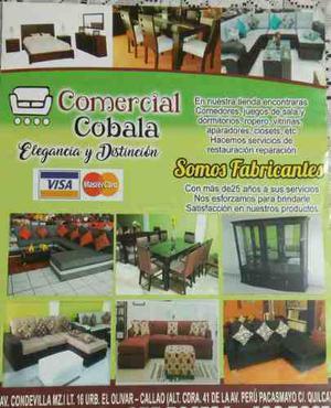 Somos fabricantes de muebles de hogar