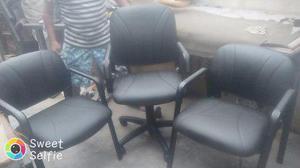 Vendo juego de sillas para oficina