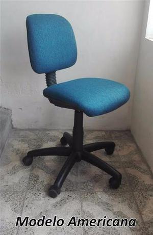 Vendo silla giratoria modelo americana