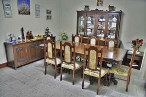 Venta mueble comedor de caoba, mesa, vitrina, aparador. en Lima ...