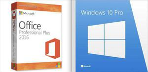 Windows 10 pro + office 2016 pro plus - original - soporte