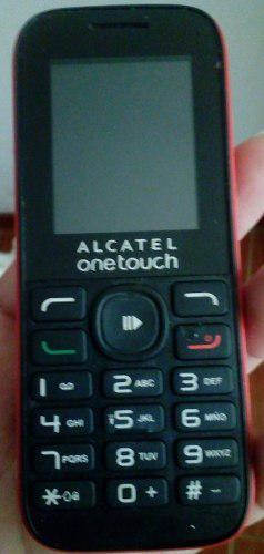 Celular básico alcatel 1050a
