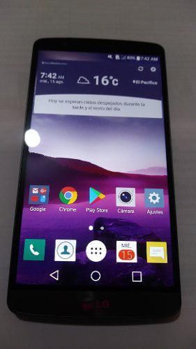LG G3 D852 - 3GB RAM Y 32GB MEMORIA PERFECTO ESTADO 9/10 segunda mano  Lima (Lima)
