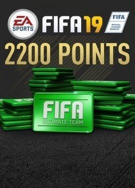 Fifa points - 2200 points fifa 19 pc