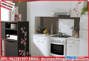 Muebles de cocina para espacios pequeños