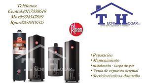 Mantenimiento y reparación de termas rheem en lima 4108759
