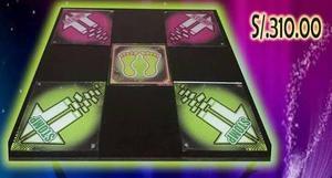 Tableros de baile g&l con luces led (gratis videojuego)